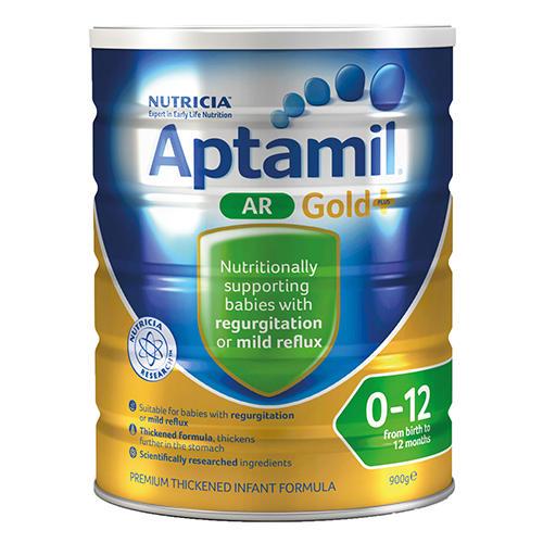Aptamil 爱他美 AR 浓稠配方奶粉 防吐奶打嗝(0-12个月)900g