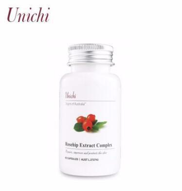 【满76纽免邮+3纽】Unich 玫瑰果精华胶囊 60粒