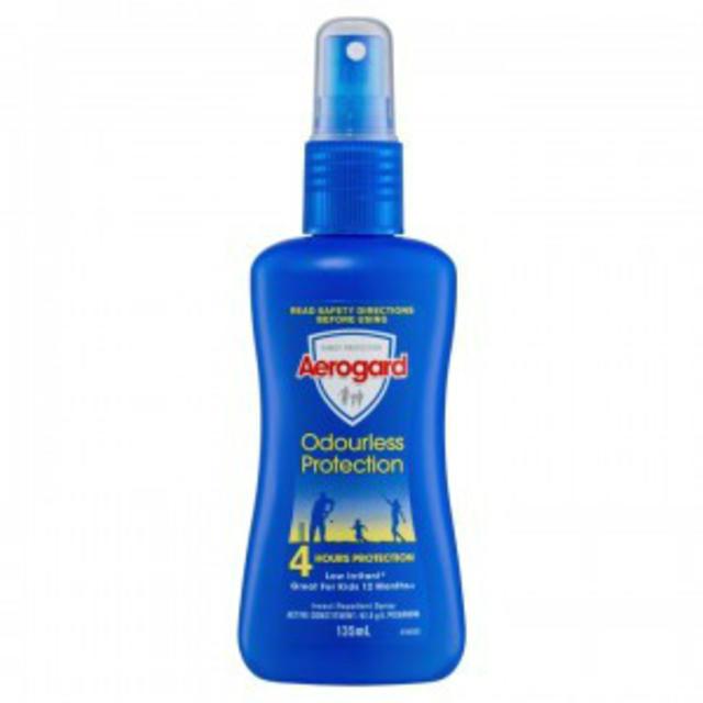 【澳洲CD药房】 Aerogard 澳洲防蚊喷雾(无味)135ml