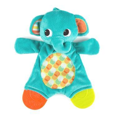 【美国Babyhaven】【最高减11美金】Bright Starts Snuggle Teethe Plush Toy系列 大象牙胶玩具
