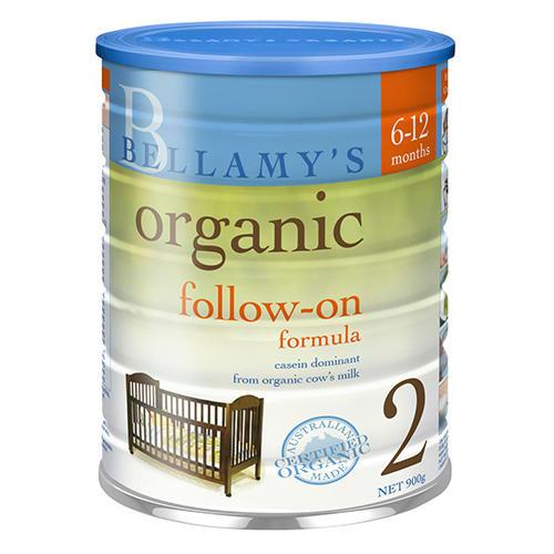 Bellamy&#039s 贝拉米 有机婴幼儿奶粉 2段(6-12个月)900g