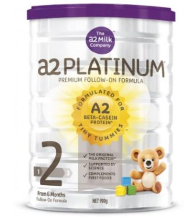 【澳洲CD药房】 A2 白金系列婴幼儿配方奶粉 (2段) 6-12个月 900g