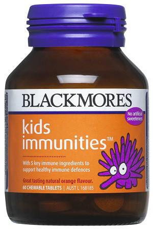 【新西兰PD】【年度低价凑单】Blackmores 澳佳宝 儿童增强抵抗力咀嚼片 60片 仅需NZ$9.45/约¥43