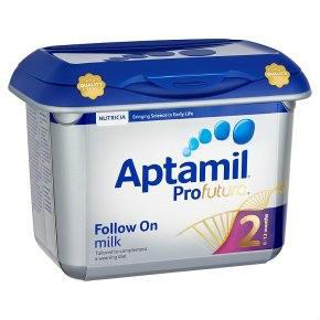 【奶粉满减】Aptamil 爱他美 Profutura 铂金版幼儿配方奶粉2段 (6-12个月婴儿)800g