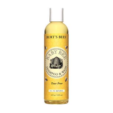 【美国Babyhaven】【满$55减$5】Burt&#039s bees 小蜜蜂 婴儿洗发露和沐浴露 8盎司/235克