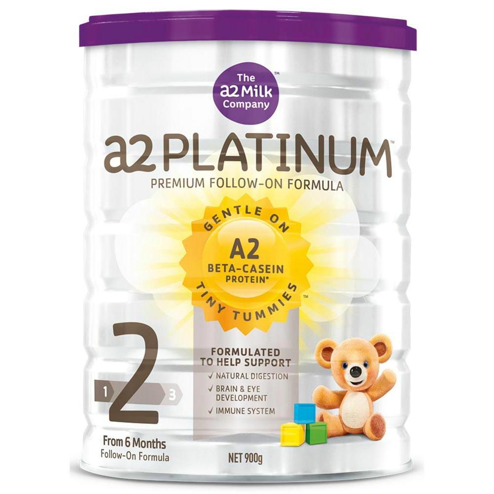 【新西兰PD】【强势补货】A2 白金版婴幼儿奶粉 900g 2段 3罐包邮装 NZ$182/约¥838
