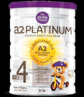 A2 白金系列婴幼儿配方奶粉 (4段)3岁+ 900g