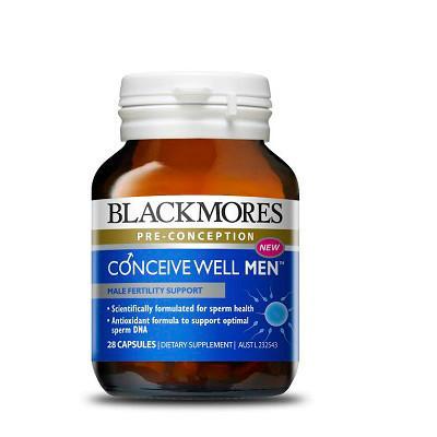 【新西兰PD】【爆款凑单】Blackmores 澳佳宝 男士备孕营养素 28粒 仅需NZ$22.00/约¥100