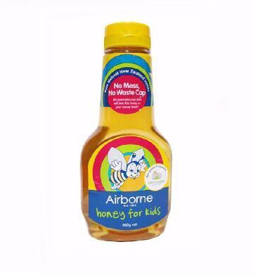 【满76纽免邮】Airborne 艾尔邦尼儿童纯蜂蜜500克 改善宝宝便秘