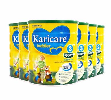 【包邮包税】Karicare 可瑞康婴儿羊奶粉 3段 900g6罐新西兰直邮包税