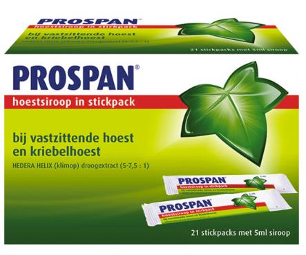 【荷兰DOD】Prospan 常春藤止咳糖浆棒 21支