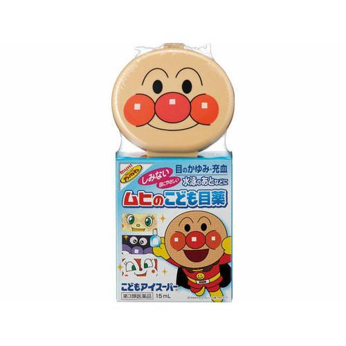 【多庆屋】池田模范堂面包超人儿童滴眼液15ml 628日元 约¥37
