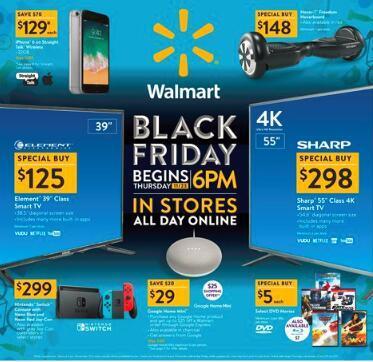 Walmart沃尔玛2017黑五在11月23日开启