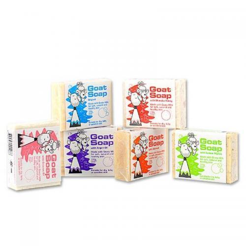 6块到手价110元!澳洲GoatSoap羊奶皂手工皂 孕妇儿童可用100g6!