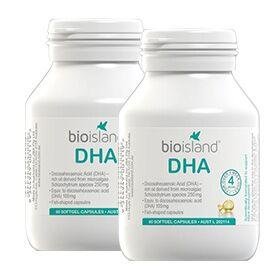 BIO ISLAND 生物岛 高纯度DHA营养胶囊 60粒2