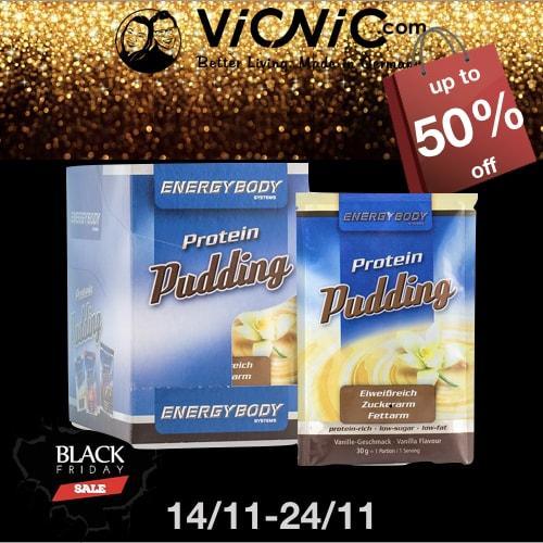 【德国VicNic百货】  黑五最低价:蛋白布丁 30克x12包