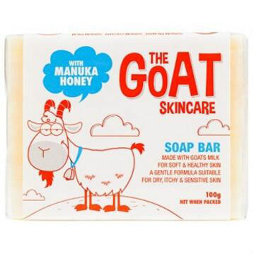 【满79澳免邮2.5kg】The Goat Skincare 纯手工山羊奶皂100g