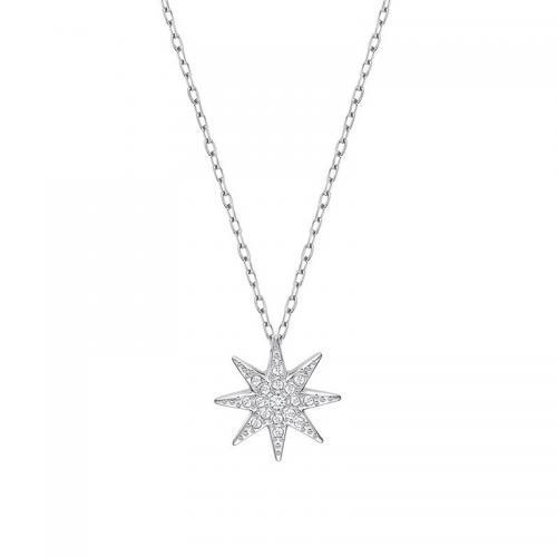 超低到手价495元!SWAROVSKI施华洛世奇 八角星水晶项链fizzy5230280