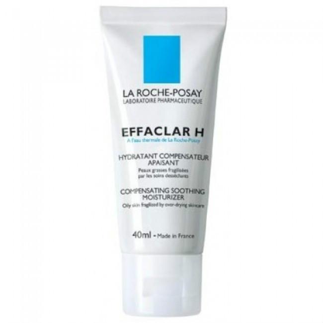 【免邮+8折】La Roche-Posay 理肤泉 Effaclar 清痘净肤特润舒护乳 H乳 40ml