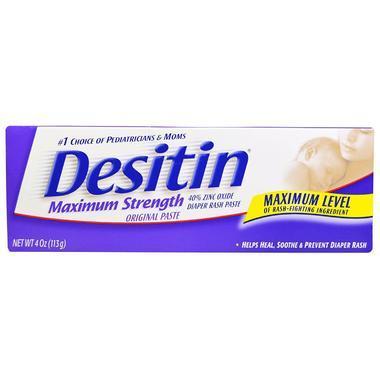 【美国Babyhaven】desitin 缓解尿布疹护臀霜 最大强度 4盎司(约117毫升)