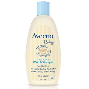 【美国Babyhaven】Aveeno Baby 宝宝洗发沐浴二合一 8 Ounce|236ML