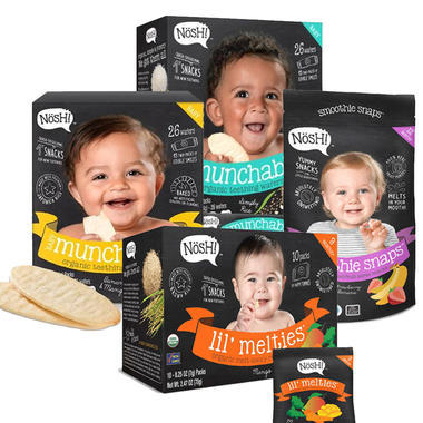 【美国Babyhaven】【3件9折】Nosh 儿童有机零食套餐