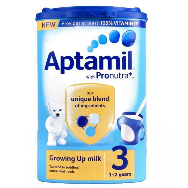 【奶粉推荐】Aptamil 爱他美 幼儿配方奶粉3段 (1-2岁幼儿)900g