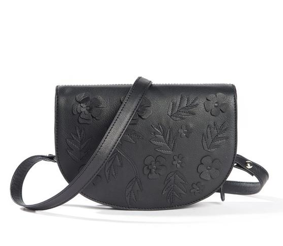 【法国LR】MADEMOISELLE R 女士复古花纹斜挎小皮包特价仅需411元