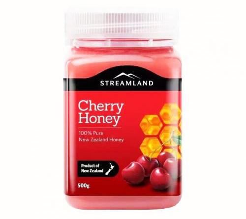 Streamland 天然车厘子蜂蜜 500g 优惠价格:109元