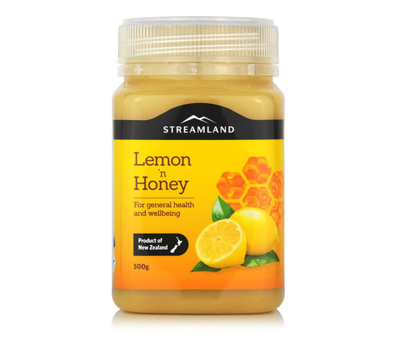 Streamland 柠檬蜂蜜 500g 优惠价格:99元