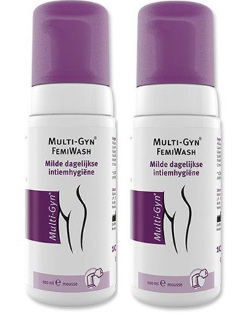 【荷兰DOD】Multi-Gyn 女性私处洗护液 100ml +100ml 2个组合装