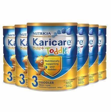 【包邮包税】Karicare 可瑞康金装婴儿奶粉 3段 900g6罐 新西兰直邮包邮包税