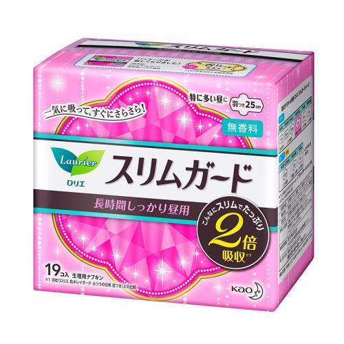 Lauríer日本花王乐而雅S系列超薄日用护翼卫生巾25厘米19片到手价33.99元!
