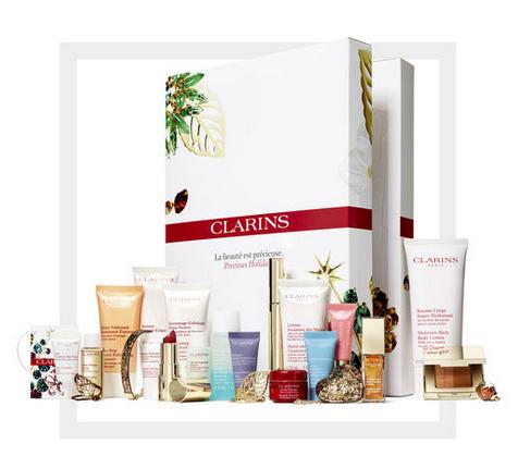Clarins娇韵诗圣诞日历礼盒 全场85折促销实付£80.75,约717元