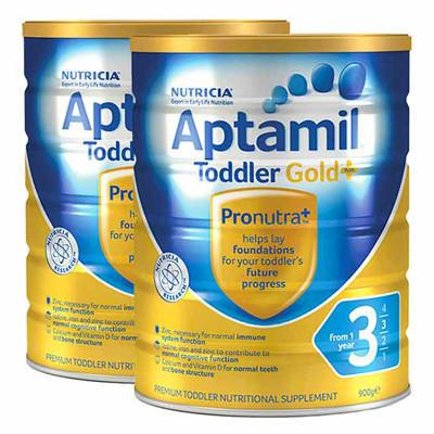 【新西兰PD】【三罐包邮装】 Aptamil 爱他美 金装版婴幼儿奶粉 900g 3段 仅需NZ$122.00/约¥555