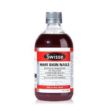 【满79纽免邮】Swisse 胶原蛋白口服液 500ml 血橙味 补水保湿