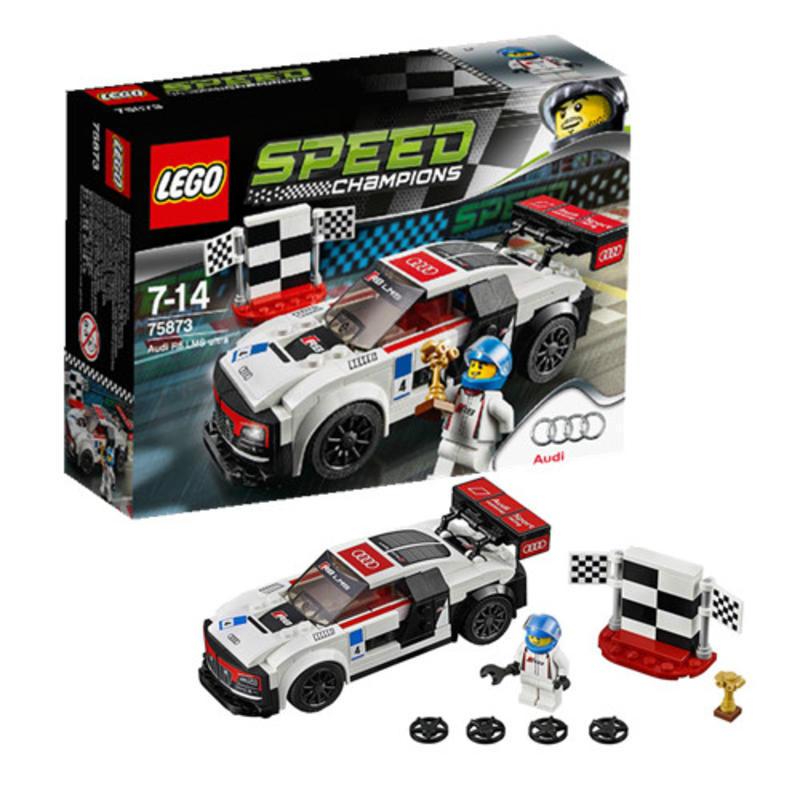 【德国BA】LEGO 乐高 奥迪R8 LMS ultra 超级赛车系列 7-14岁 1套