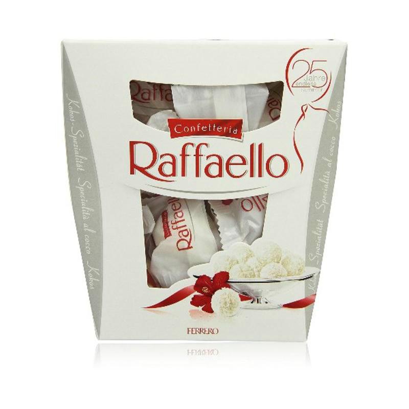 【德国BA】Ferrero 费列罗 Raffaello杏仁椰蓉夹心巧克力球 230g 23颗 任意三件减3欧