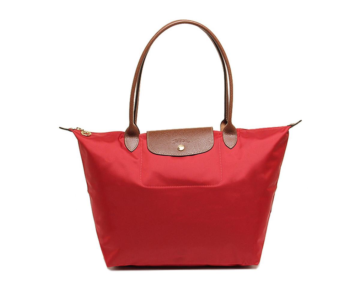【包邮装】Longchamp 珑骧 红色尼龙女士手提包 1899089545 优惠价格:699元