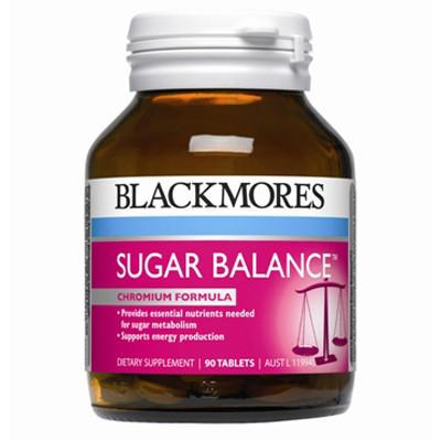 【新西兰PD】【三件包邮】Blackmores 澳佳宝 血糖平衡片 90片  NZ$14.75/约¥66