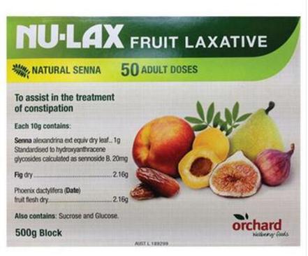 【澳洲PO药房】】Nu-Lax 乐康膏 天然果蔬排毒润肠通便 500g