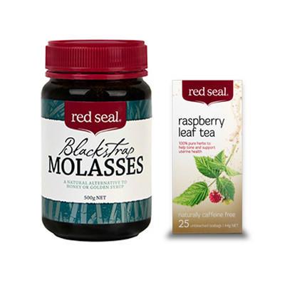 【新西兰PD】【超值套装】红印 覆盆子花草茶25包+红印 黑糖 500g 仅需NZ$9 45 约¥42