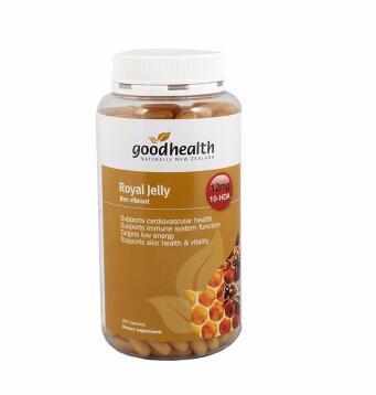 【满78纽免邮】Good Health 好健康 蜂王浆胶囊 365粒