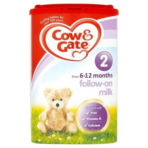 Cow &amp Gate 牛栏 婴儿配方奶粉2段(6-12m)900g