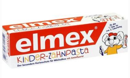 【德国DC】Elmex 易学 婴幼儿可吞咽牙膏 50ml 出牙起至6岁适用