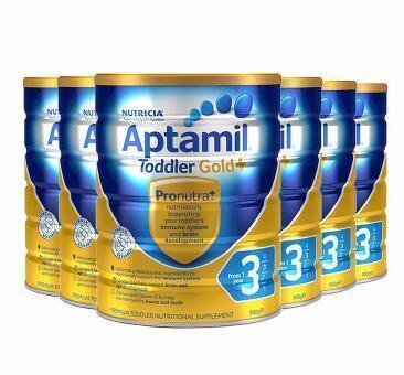 【圣诞节囤货】Aptamil 爱他美金装婴儿奶粉 3段 900g6罐