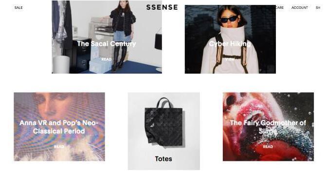 加拿大SSENSE官网设计师品牌推荐