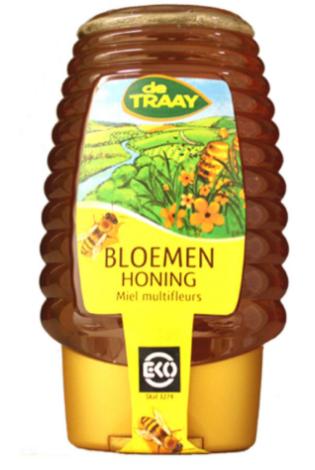 【荷兰DOD】Traay 纯天然有机百花蜂蜜 375g