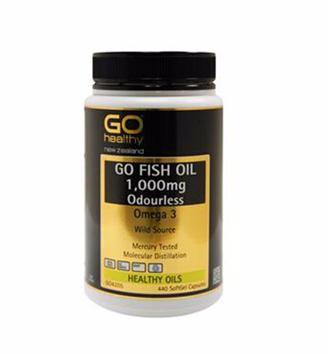 【满75纽免邮】Go Healthy 高之源深海无腥鱼油(1000毫克)胶囊 440粒