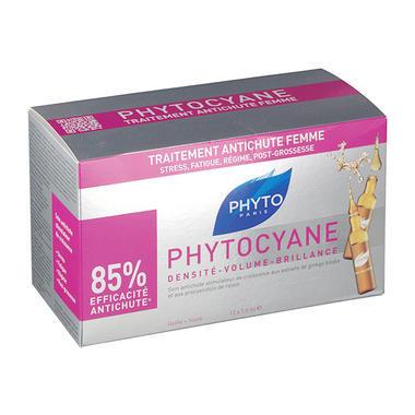 【免邮热销】Phyto 发朵 女士抗脱发精华护理液 7.5ml12支装